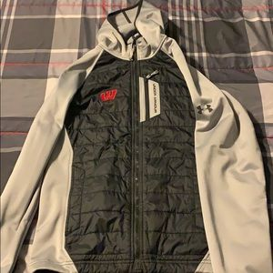 Men's Under Armour Badgers Midweight Jacket